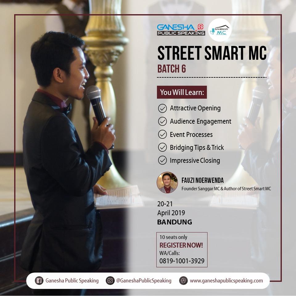 Pelatihan MC Bandung
